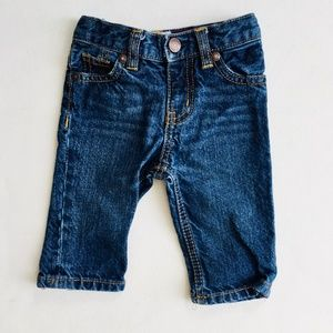 OshKosh Dark Wash Baby Jeans